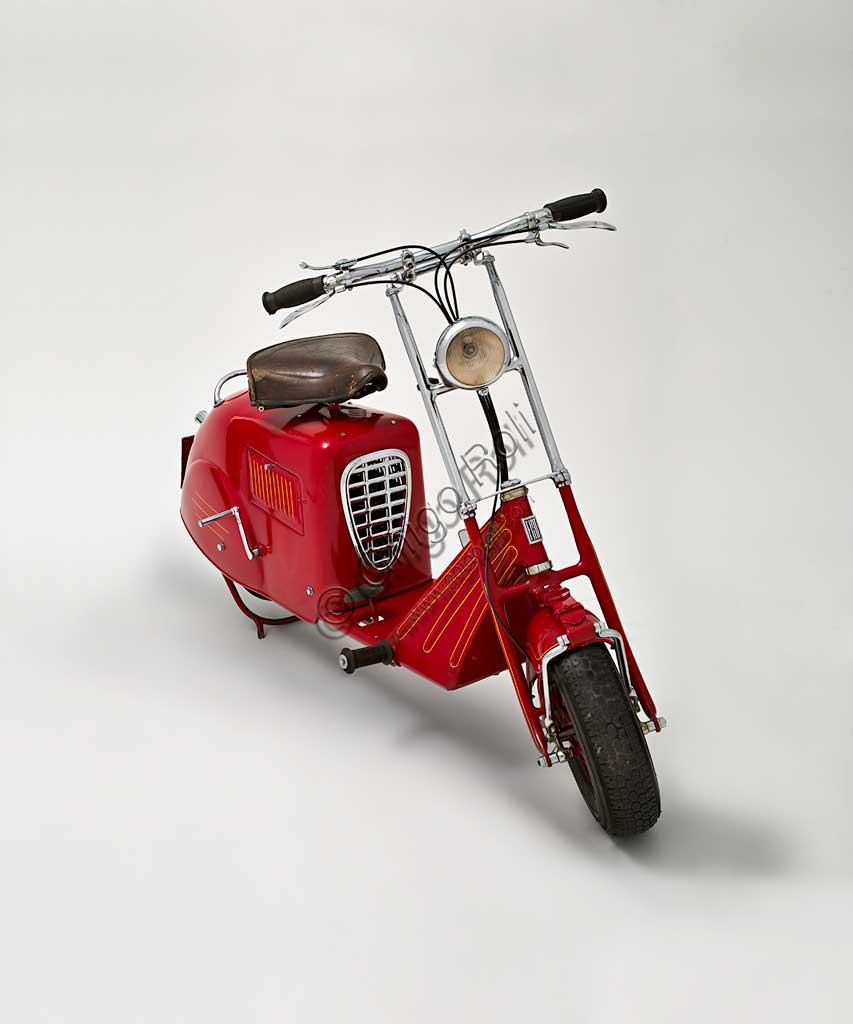 Ancient Motorbike Fiat Scooter Prototipo.