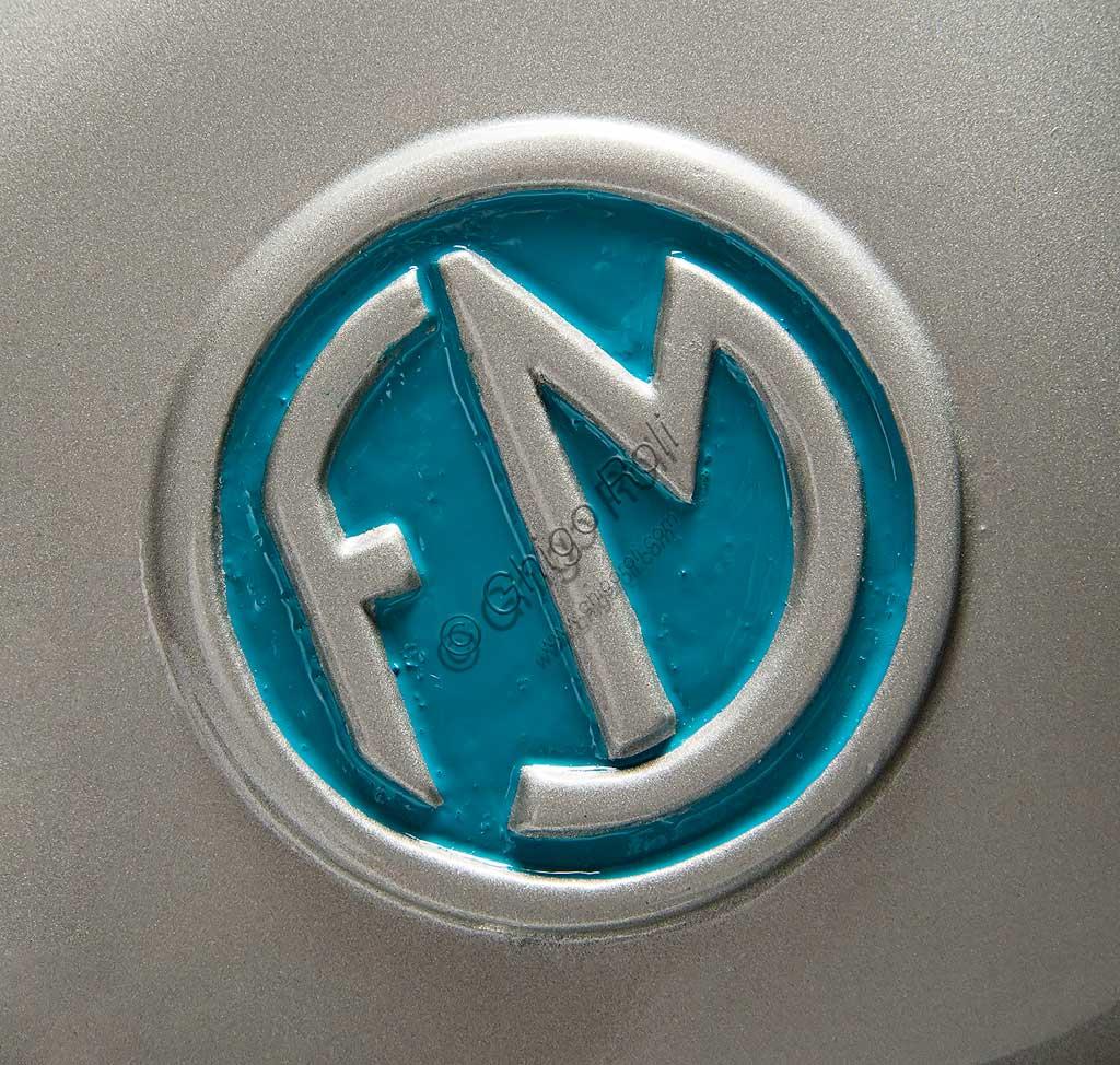 Ancient Motorbike FM Scooter. Trademark.