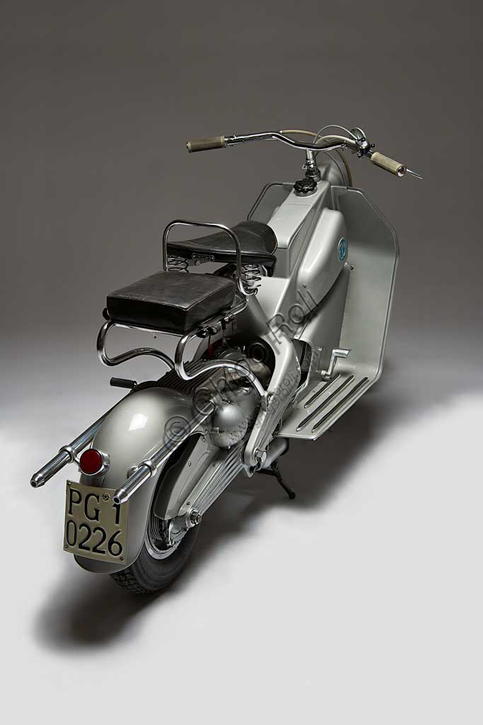 Ancient Motorbike FM Scooter.