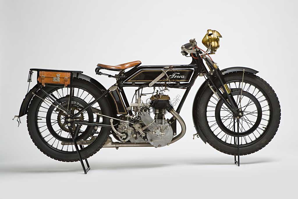 Ancient Motorbike Frera SK 350 Sport.
