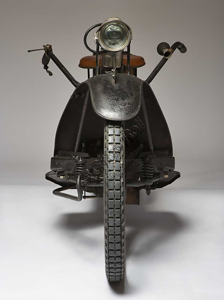 Ancient Motorbike NER-A-CAR Model A. Scooter.