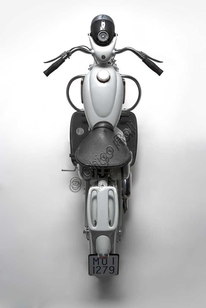 Ancient Motorbike (scooter) Motom Delfino.