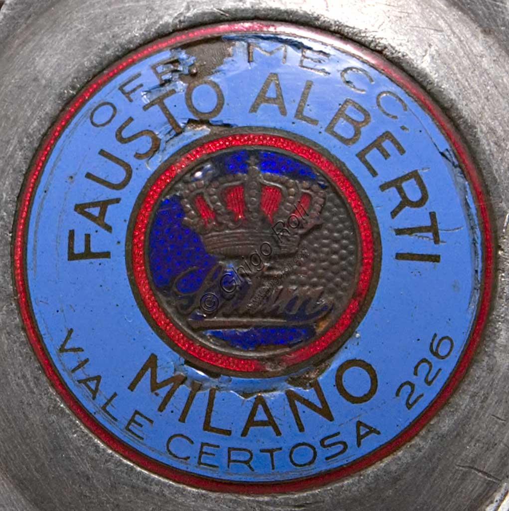 Ancient Motorbike Sertum Batua. Trademark Officine Meccaniche Fausto Alberti.
