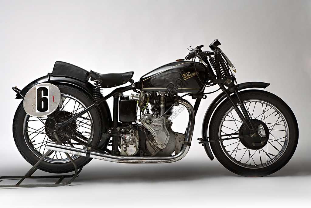 Ancient Motorbike Velocette GP MSS 500