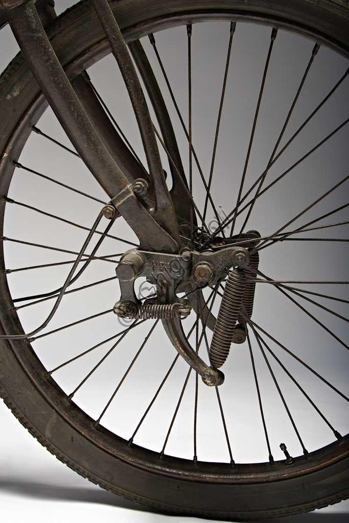 Ancient Motorbike Zedel - Frera 3 Hp. Wheel.