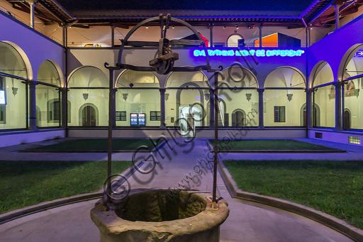 Museo Novecento: chiostro del vecchio spedale.