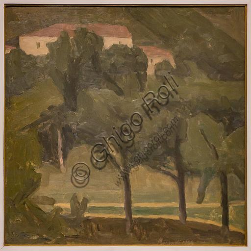 """Museo Novecento: """"Paesaggio"""", di Giorgio Morandi, 1936. Olio su tela."""