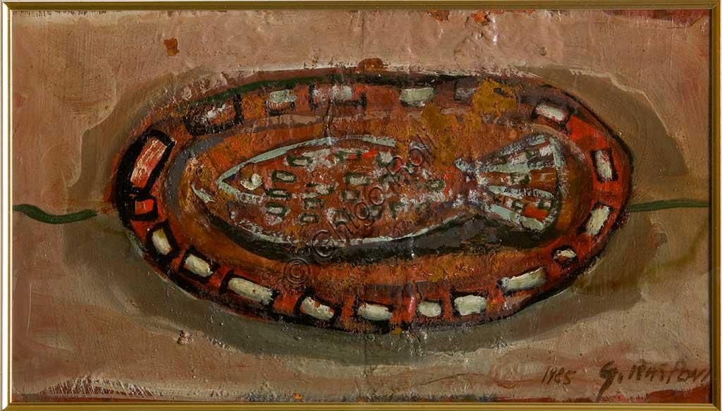"Assicoop - Unipol Collection: Giulio Rasponi, ""Still Life"", mixed media."