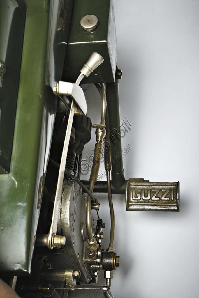 "Ancient Motorbike Moto Guzzi  ""Normale"""