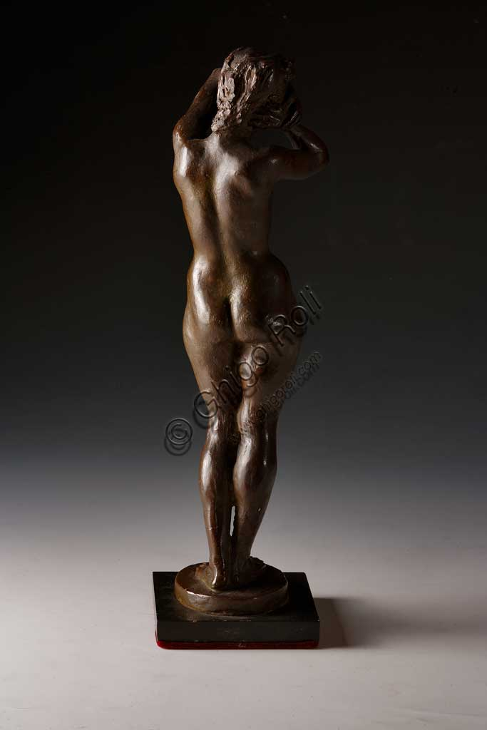 "Assicoop - Unipol Collection: Ivo Soli (1898-1976), ""Female Nude"". Bronze."