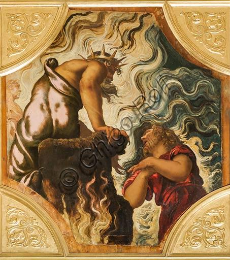 """Modena, Galleria Estense: """"Orfeo supplica Plutone"""" Jacopo Robusti detto Tintoretto, olio su tavola cm. 153 x 133."""