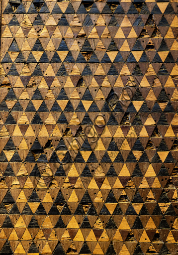 Orvieto, MODO (Museo dell'Opera del Duomo di Orvieto): Leggio e frammenti del coro, di maestri ebanisti senesi, 1330 - 70, legno intagliato e intarsiato.
