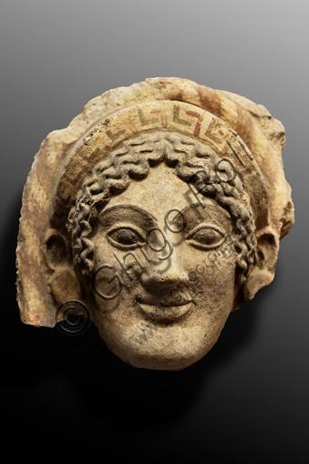 Orvieto, Museum Faina: antefix of the sacred area of Cannicella.