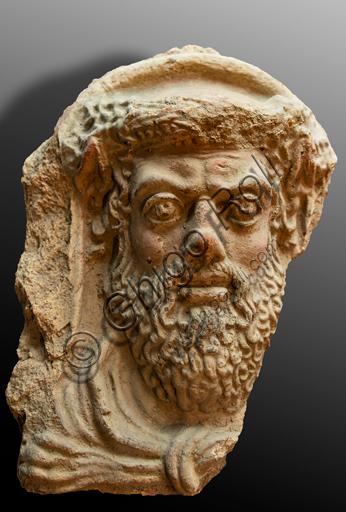 Orvieto, Museum Faina: Head of Heracles.