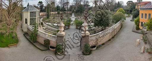Padova, l'Orto Botanico: l'Hortus Cinctus.