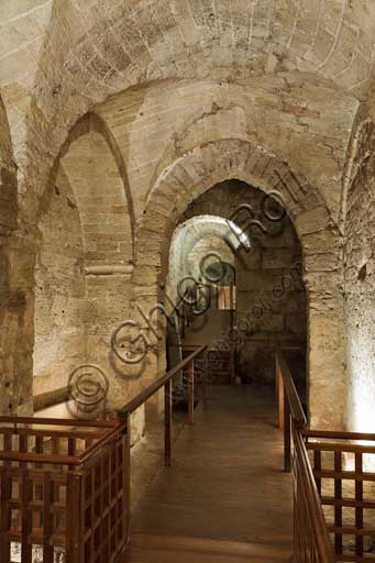 Palermo, The Royal Palace or Palazzo dei Normanni (Palace of the Normans), the Montalto wing: the dungeons.