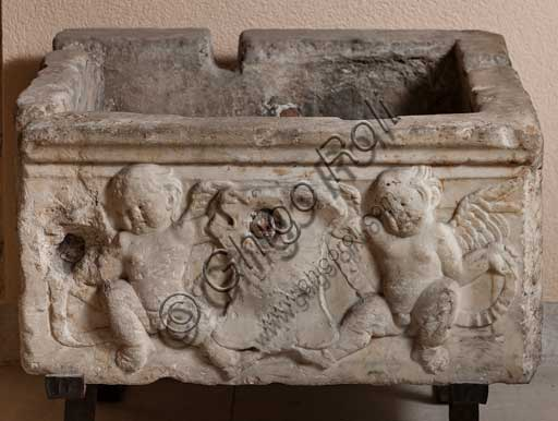 Palermo, The Royal Palace or Palazzo dei Normanni (Palace of the Normans), R1, Assignments: basin with putti.