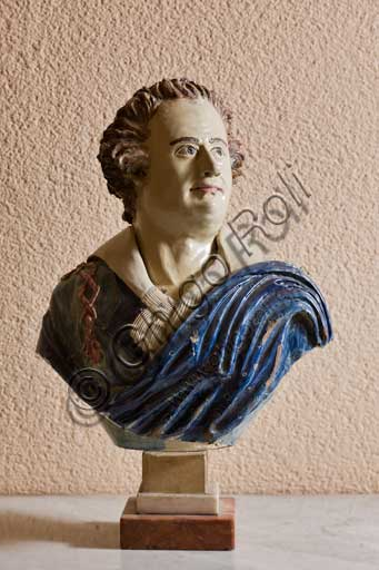 Palermo, The Royal Palace or Palazzo dei Normanni (Palace of the Normans), R1, Assignments: earthenware bust, Sicilian manufacture, 1784.