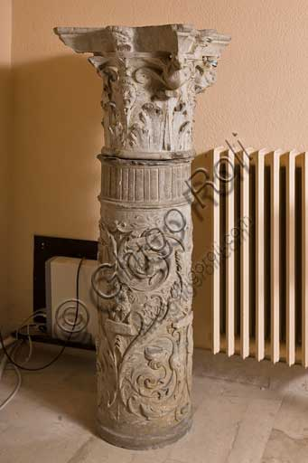 Palermo, The Royal Palace or Palazzo dei Normanni (Palace of the Normans), R1, Assignments: historiated column.