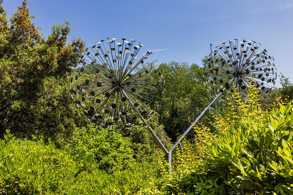Parco di Pinocchio, il Paese dei Balocchi: l'albero degli zecchini.