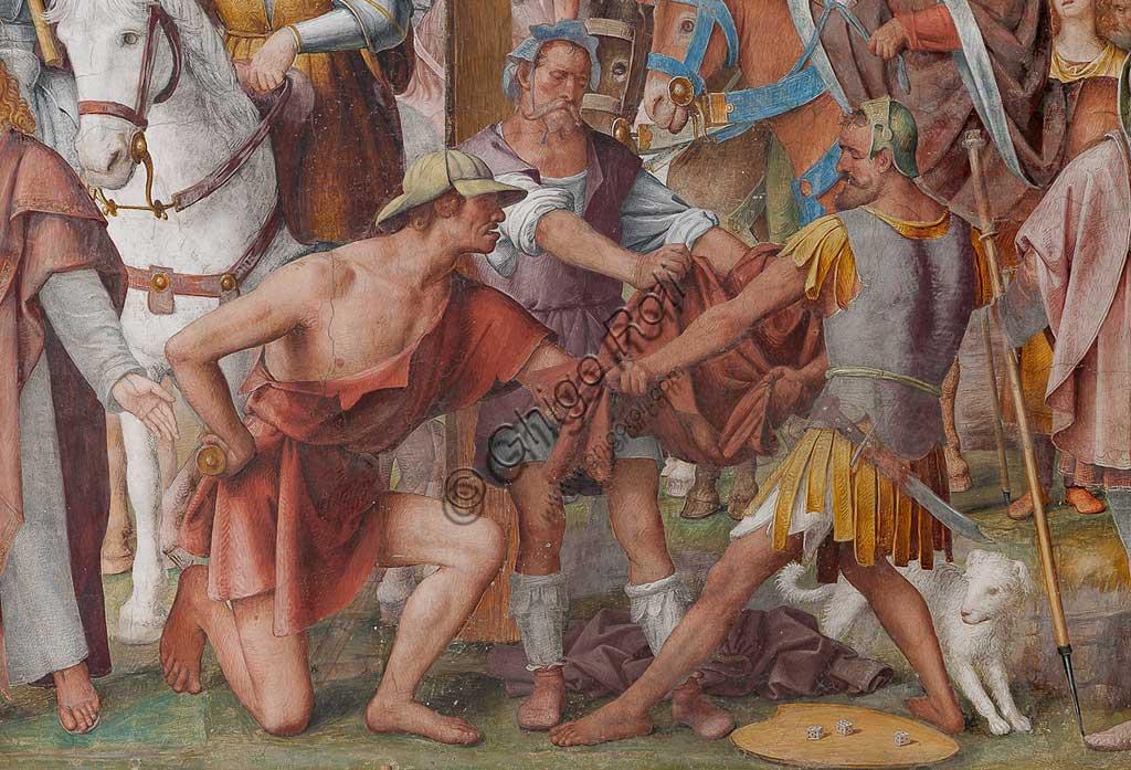 """Lugano, Chiesa di S.ta Maria degli Angeli: """"Passione e Crocifissione di Cristo"""", affreschi di Bernardino Luini, 1529. Particolare."""