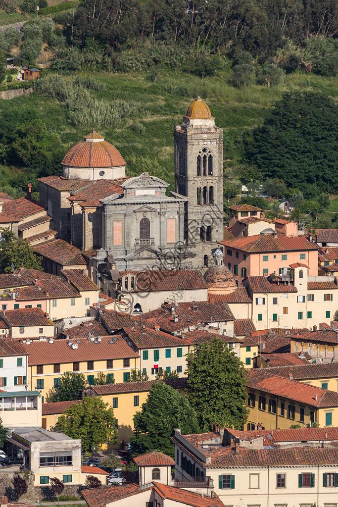 Pescia: veduta del Duomo.