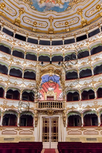 Piacenza: the Municipal Theatre.