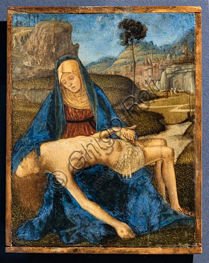 """""""Pietà"""", di Vittore Carpaccio, 1485 circa."""
