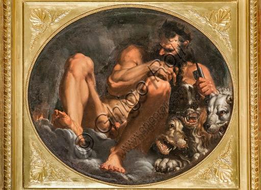 """Modena, Galleria Estense: """"Plutone"""", di Agostino Carracci (1557-1602)."""
