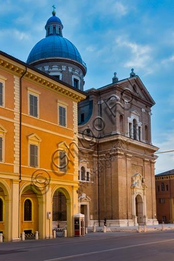 Reggio Emilia: the Church of Steccata.