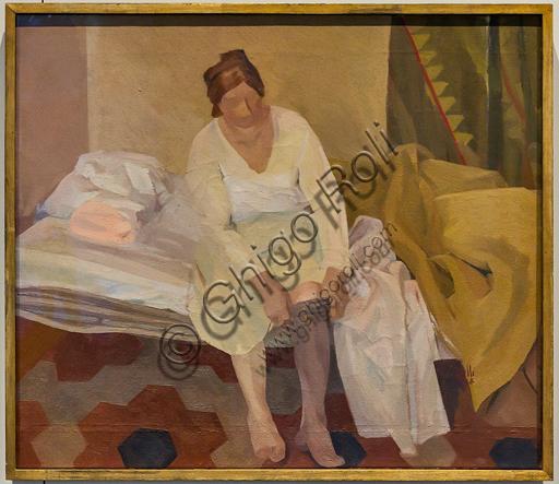 """Museo Novecento: """"Risveglio estivo"""", di Roberto Melli, 1938. Olio su tela."""