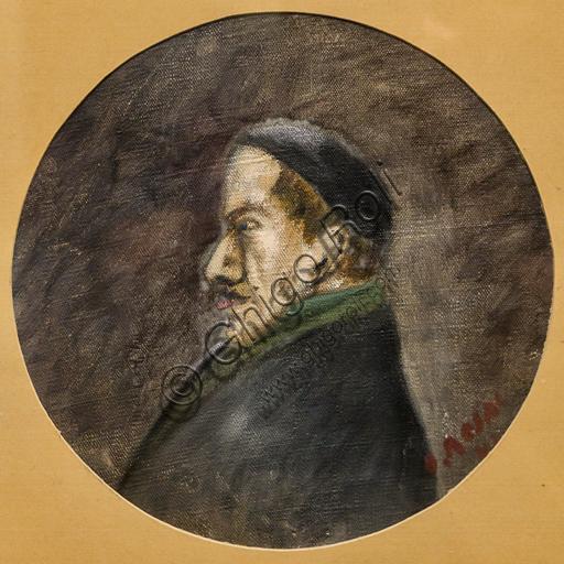 """Museo Novecento: """"Ritratto di Elio Vittorini """",  di Ottone Rosai, 1941. Olio su tela."""