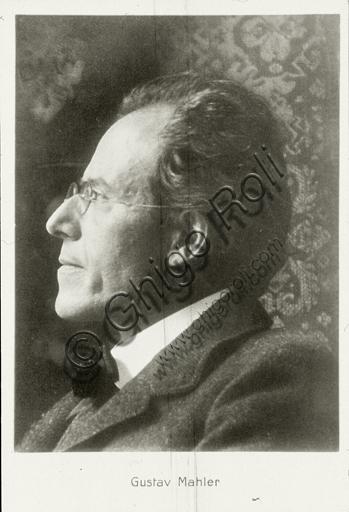 """Portrait of Gustav Mahler"", photography."