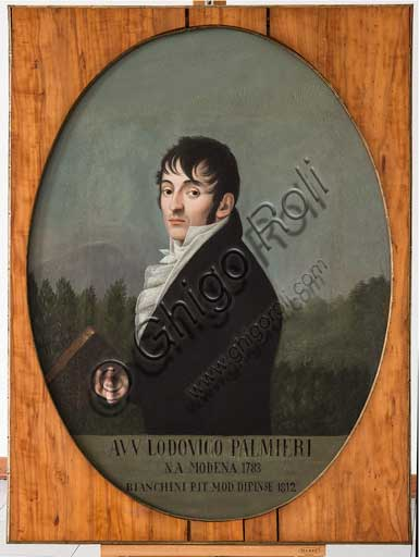 "Assicoop - Unipol Collection: Ippolito Bianchini Ciarlini (1767 - 1849); ""Portrait of Ludovico Palmieri"", oil painting on canvas, 109 x 82."