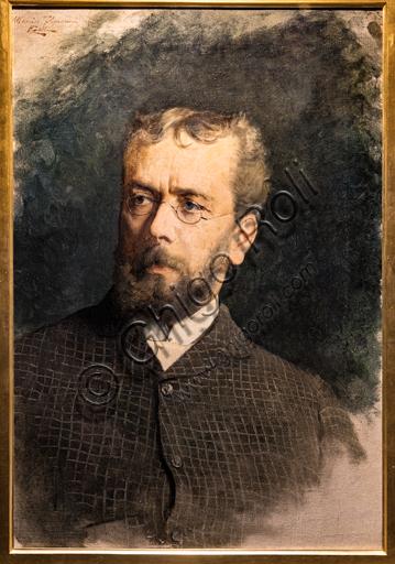 "Edoardo Gelli: ""Portrait of Telemaco Signorini"", 1880-5, oil painting on canvas."