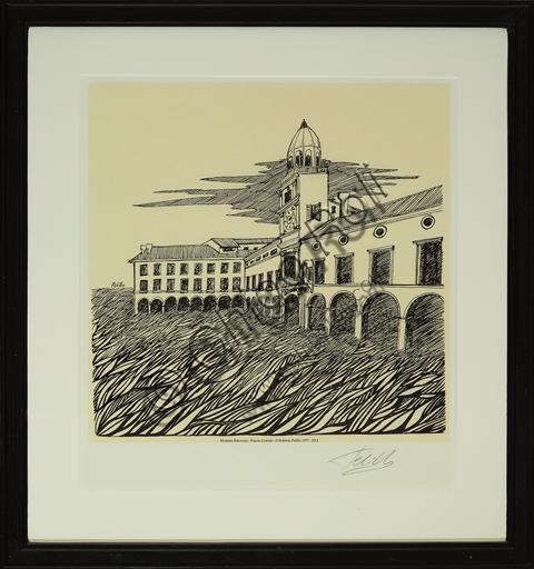 """Roberto Pelillo (1977 - 2014); """"Rediscovered Modena: The Grande Square""""."""