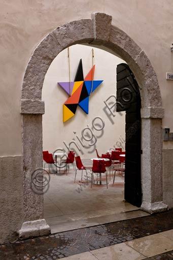 Rovereto, Casa Depero: entrance of the museum.