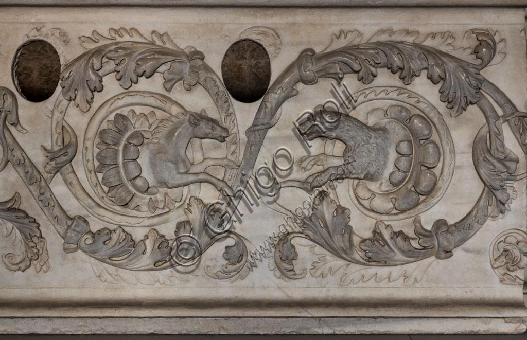"""Brescia, """"Santa Giulia, Museo della Città"""", (sito Unesco dal 2011): reperto."""