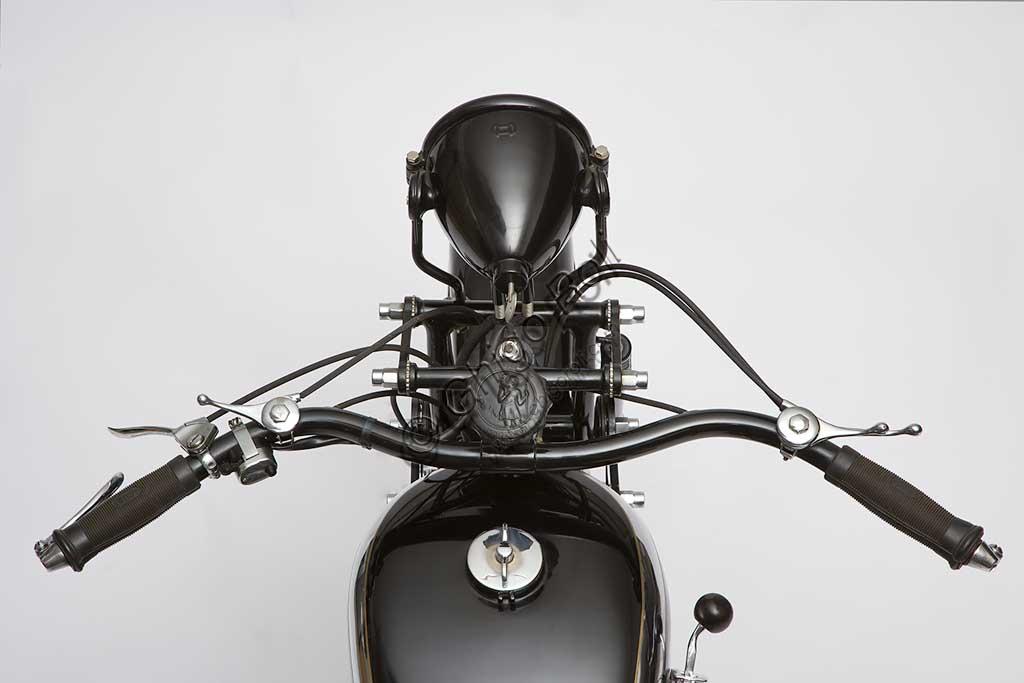 Ancient Motorbike Gilera Gran Sport 350