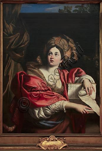 """Musei Capitolini, Pinacoteca: """"Sibilla Cumana"""", di Domenichino (Domenico Zampieri), 1622. Olio su tela."""