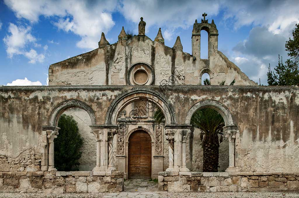 Syracuse: view of the Church of St John at the catacombs.