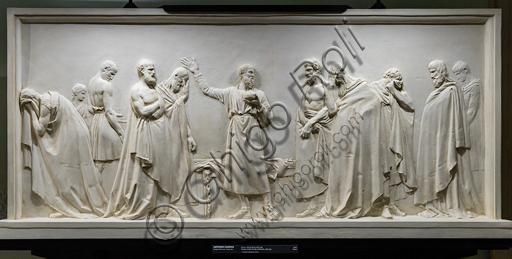 """""""Socrate beve la cicuta"""", 1787-90, di Antonio Canova (1757 - 1822), gesso."""