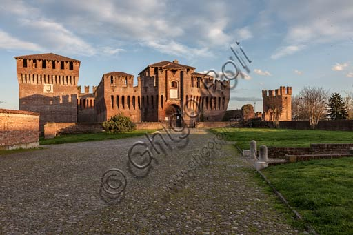 Soncino (Cremona): The Castle (XV century).