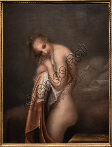 """La sorpresa"", 1799, di Antonio Canova (1757 - 1822), olio su tela."