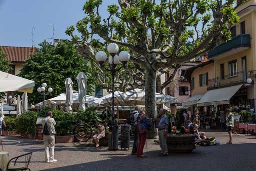 Stresa: view of the main square.