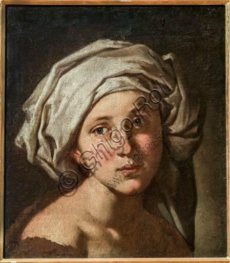 """Modena, Museo Civico d'Arte: """"Testa di Fanciulla con Turbante"""", di Francesco Stringa (1578-1615)."""