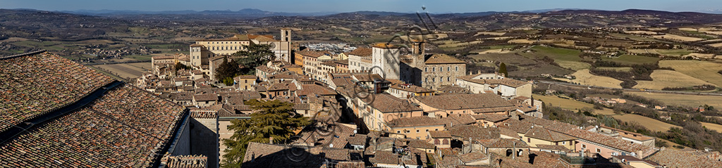 Todi: view of the town