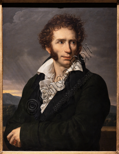 """Ugo Foscolo"", 1813, by François - Xavier Fabre (1776 - 1837), oil on canvas."