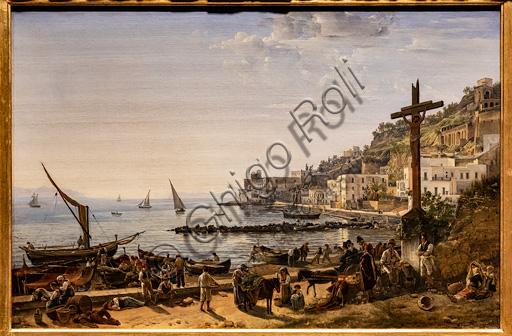 """Sil'vestr Feodosievič Ščedrin: """"View of Mergellina"""", oil painting, 1826."""