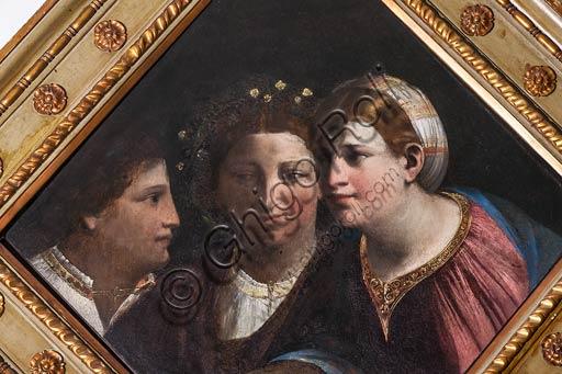 """Modena, Galleria Estense, rombo allegorico: """"Conversazione"""" di Giovanni Luteri, conosciuto come Dosso Dossi."""